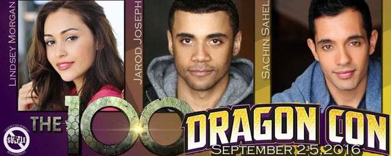 9/2-9/5/16 - Atlanta, GA. - Dragon Con with Lindsey Morgan, Jarod Joseph, Sachin Sahel.