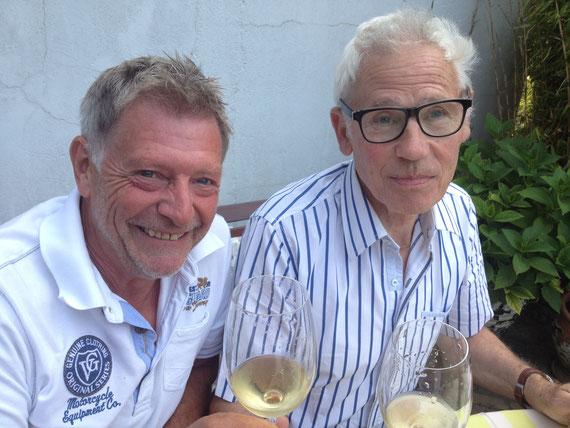 met Jan Bal, gereputeerd wijnmeester sinds jaren '60.