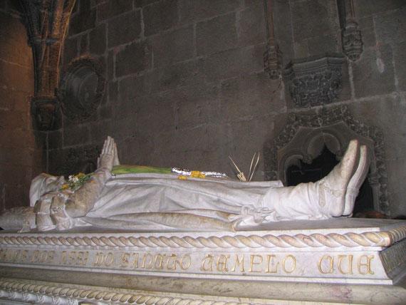 Gisant de Vasco de Gama