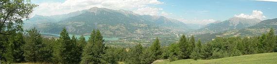 Vue panoramique sur Embrun