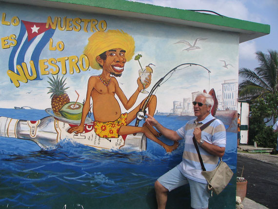 Sur la route de La Havane, arrêt pause-pipi