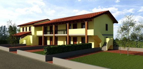 Appartamenti con giardino privato