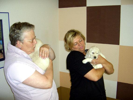 Sabine und ich (Kathleen) bei unserer Lieblingsbeschäftigung