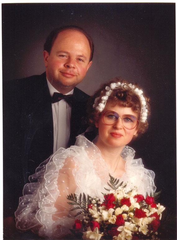 Unsere Hochzeit 2. April 1985