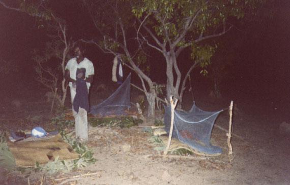 FOTO 9: flying camp seguendo i leoni. Più difficile difendersi dalle zanzare.