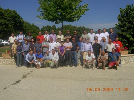 Gruppo dopo il pranzo