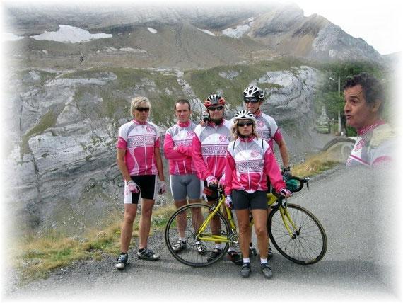 Le col des Tentes ( Alt. 2200 ) pour nos meilleurs cyclos montagnards