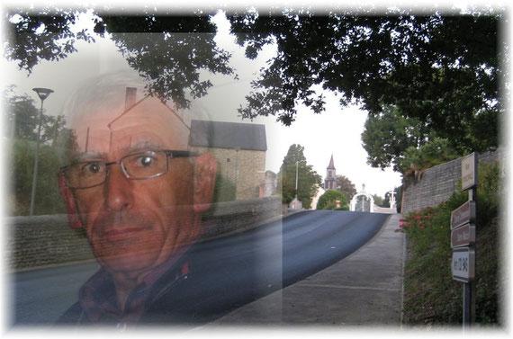 Notre ami repose en paix dans le petit cimetière sur les hauteurs de Poey...