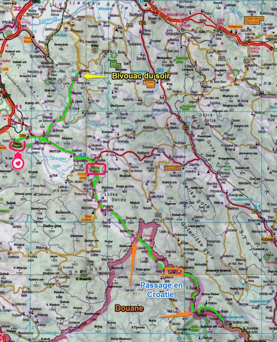 Slovénie 2014 Jour 10 / Bosljiva Loka / Rakitna (119 Kms)