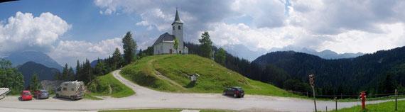 L'église et la vue