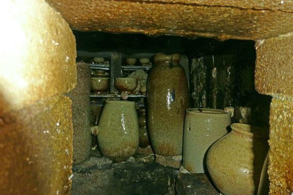 窯焚き後 ようやく確認した内部 武州熊谷ひみこ窯