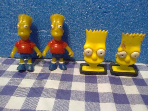 Nuevamente el dibujo sale de la T.V. para jugar con los niños: Los Simpsons.