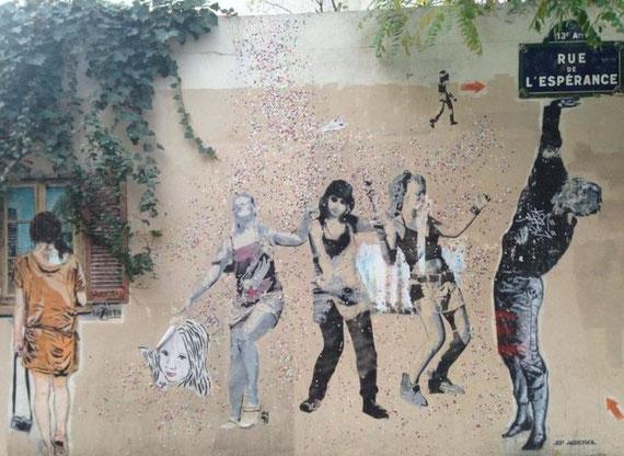 Street Art Paris Buttes aux Cailles