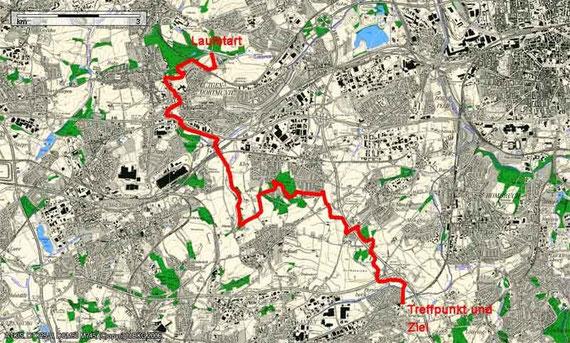 5. Etappe Streckenkarte