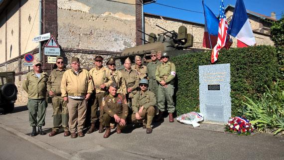 16/08/2015, commémoration de la libération de DREUX le 16/08/1944