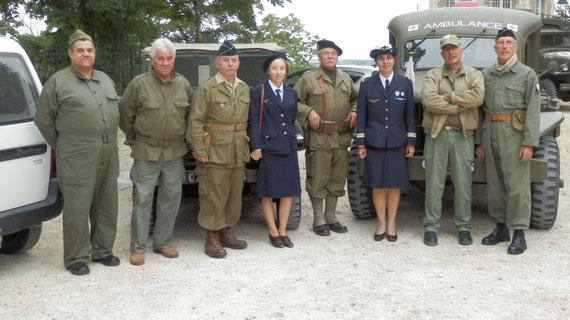 12/09/2015, ST MICHEL des parachutistes UNP DREUX, Cérémonie à LA CHAPELLE ROYALE