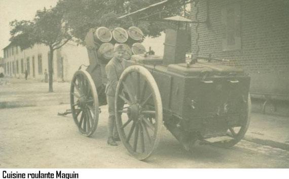 Cuisine roulante modèle 1916