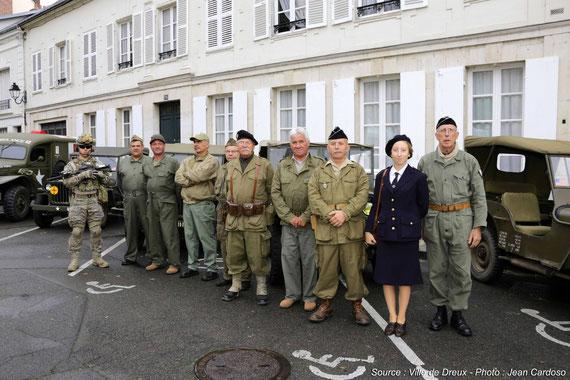 12/09/2015, l'AFCVM est présente à la SAINT MICHEL des parachutistes de l'UNP de DREUX