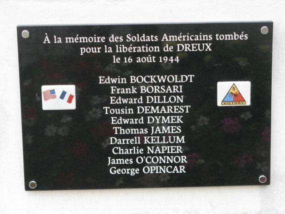 L'AFCVM a réussi à rendre hommage à ces valeureux soldats américains et à faire réhabiliter leur mémoire