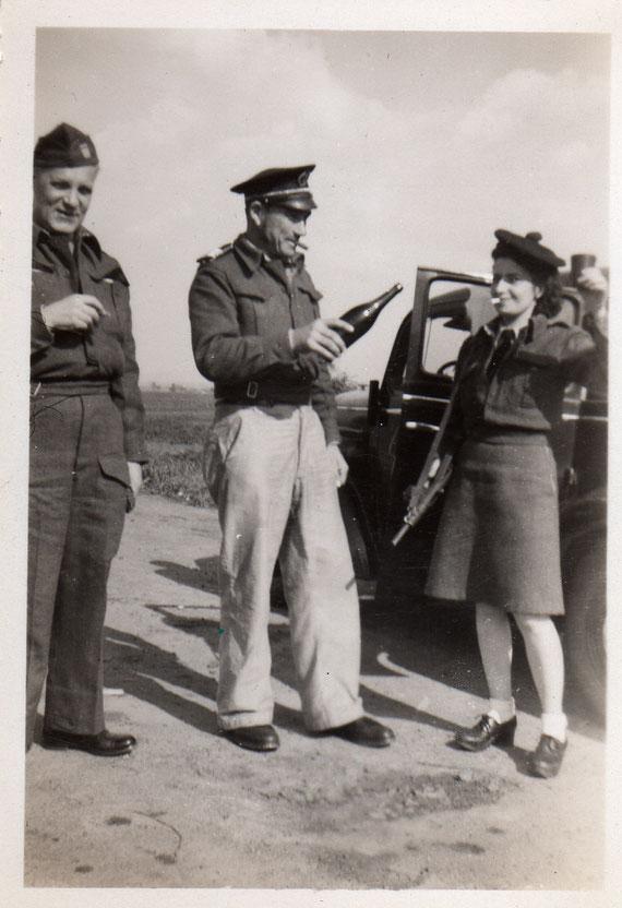 Photo prise au cours de l'été 1944 sans plus de précisions