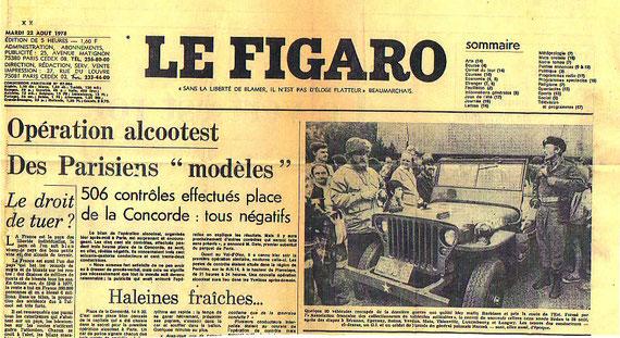 Convoi du souvenir AFCVM année 1978