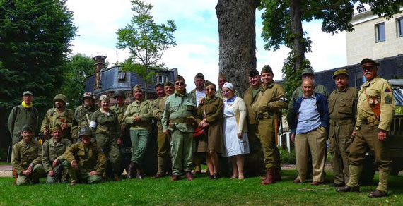Les membres AFCVM présents à la commémoration
