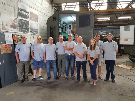 Membres présents au local, lors du reportage le 31 juillet 2018