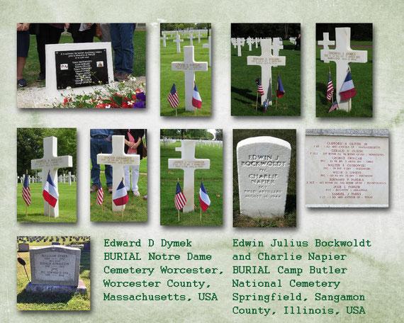 Les 10 héros du 16 août 1944 à DREUX