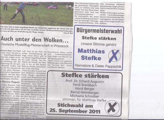 Wochenspiegel 21.09.2011