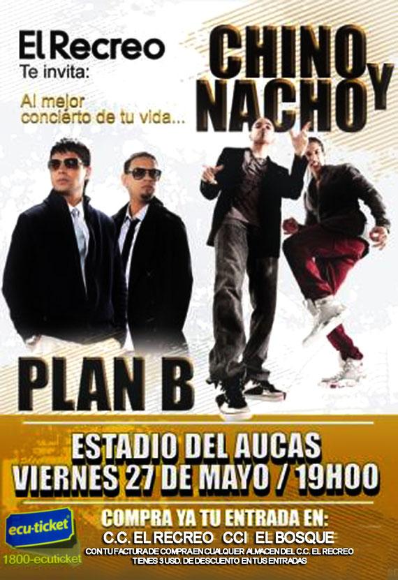 CHINO Y NACHO PLAN B EN ECUADOR