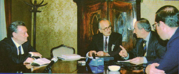Miko Tripalo, Adil Zulfikarpašić, Vlado Gotovac, Ivo Banac