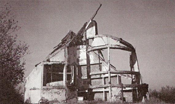 Razrušena župna crkva u Kulini