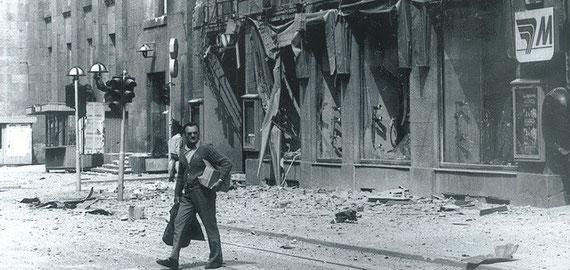 Život pod srpskim granatama: Sarajevo, svakodevica smrti  Photo: Rikard Larma