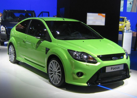 Ford Focus 2 facelifted