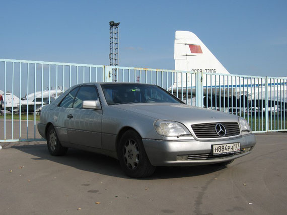 Mercedes-Benz CL600 С140