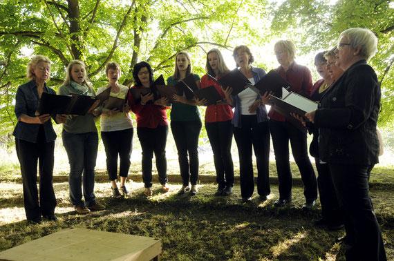 Frauenchor Gesangverein Alfeld - Serenade unter den Linden 2014