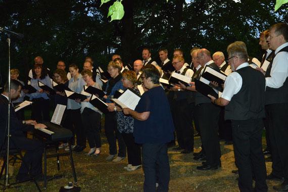 Gemischter Chor Gesangverein Alfeld - Serenade unter den Linden 2019