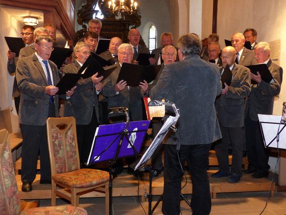 """Serenade """"Aus dem Tagebuch eines Alfelder Boum""""  St. Bartholomäuskirche Alfeld 2015"""