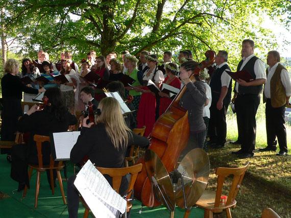 Gemischter Chor Gesangverein Alfeld - Serenade unter den Linden 2013