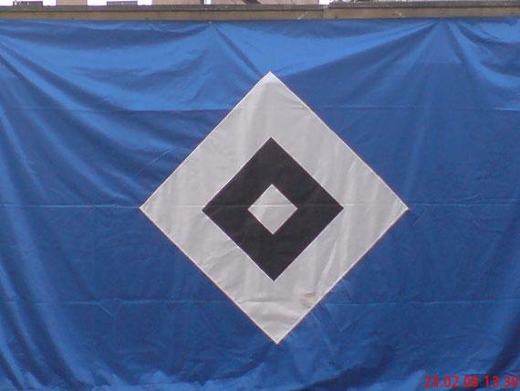 HSV-Fahne 1,50x2,50cm