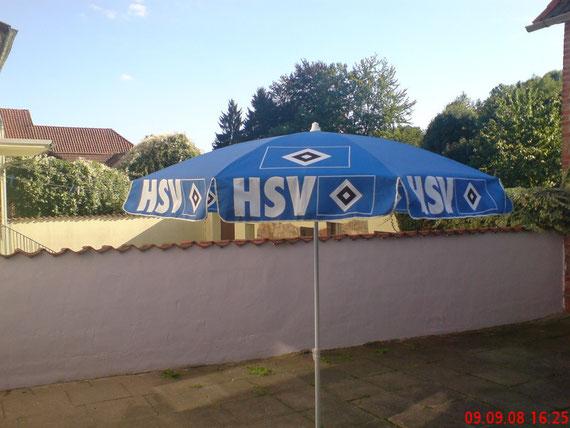 Mein HSV-Sonnenschirm
