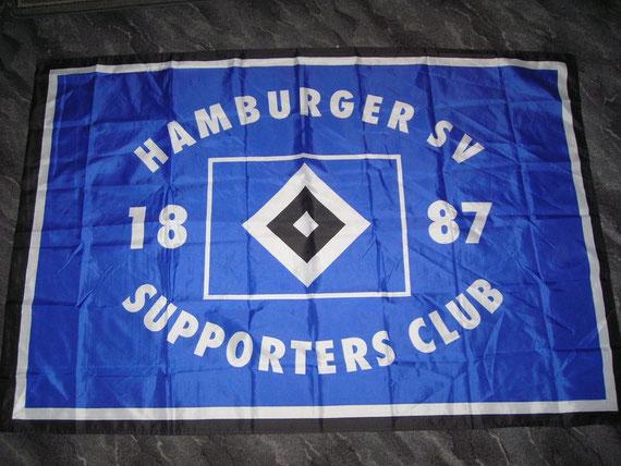 HSV-Supporters-Fahne 1,50x1,00cm