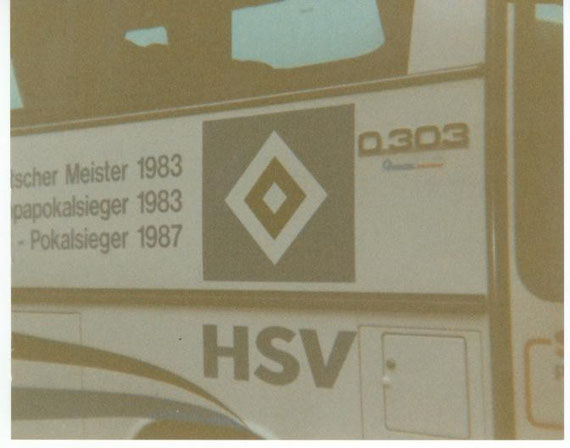 Der HSV-Bus in Osterode