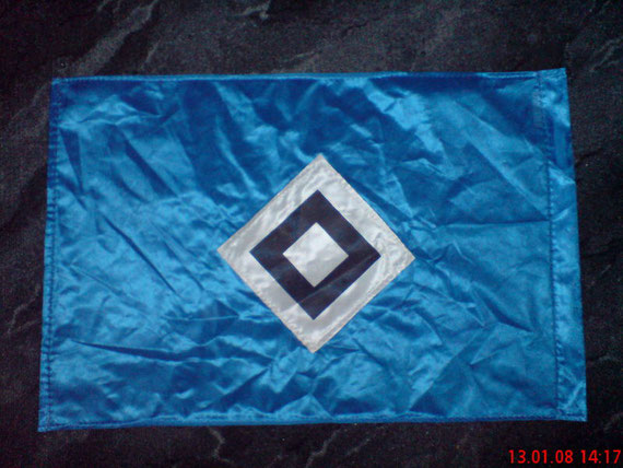 HSV-Fahne 40x60cm