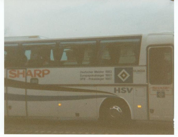 Der HSV-Bus 1993 in Osterode