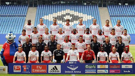 Das HSV-Team 2010/2011