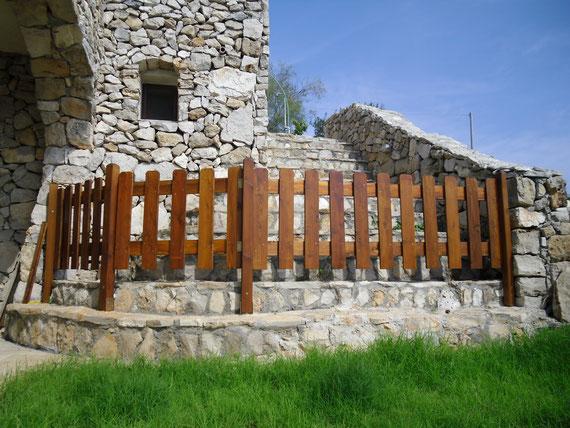 cancelli in legno giardino bricolage : Arredo Giardino Strutture in Legno