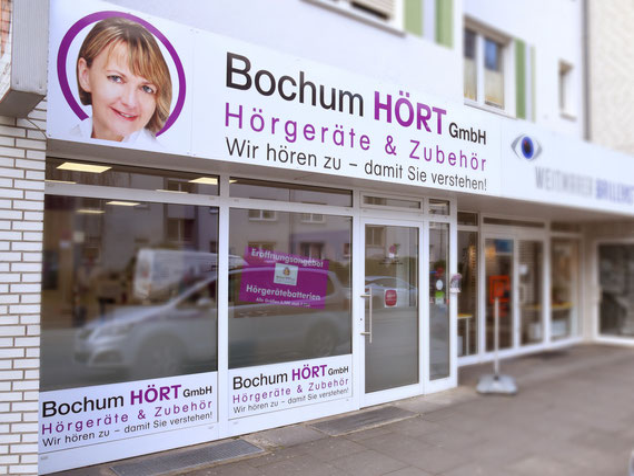 Außenansicht der Bochum HÖRT GmbH