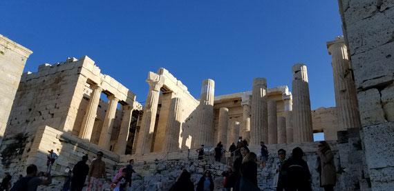 2019.11  パルテノン神殿 (ギリシャにて)