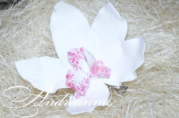 Экзотическая орхидея для волос, розовая стоимость 100 грн (в любом цвете)